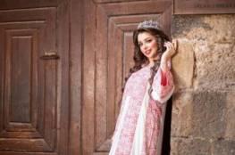 شاهد: ملكة جمال فلسطين تذبح عجلا وتوزعه على الفقراء احتفالا بالانفصال عن زوجها
