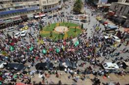 نابلس تشيع جثمان الشهيد أحمد غزال