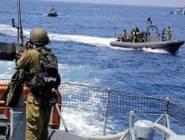 لجان الصيادين: بحرية الاحتلال تنهي حصارها لأحد مراكب الصيد شمال القطاع