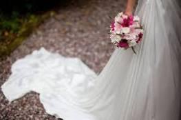 عروس تسحب مسدساً من أسفل فستان زفافها وتطلق النار على عريسها!!