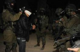 جيش الاحتلال يعتقل 9 فلسطينيين بالضفة