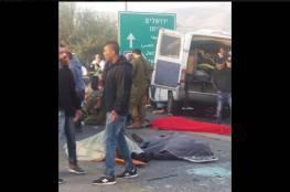 مصرع ٦ عمال فلسطنيين في حادث سير