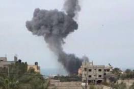 مدفعية الاحتلال تستهدف موقعاً للمقاومة شرق دير البلح