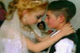بالفيديو : أصغر عروسين في السويداء السورية!