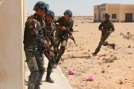 القضاء على أكثر من 30 إرهابياً في سيناء
