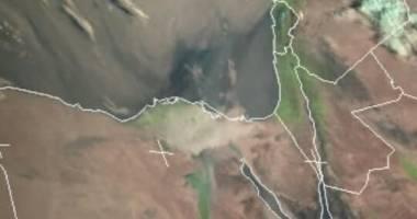 بحسب الأقمار الصناعية.. توقعات بـ«موجة غبار» تزحف نحو «بلاد الشام » غداً