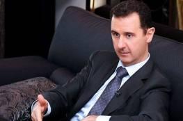 """بشار الأسد: أنام بانتظام وأعمل وأتناول الطعام بشكلٍ طبيعي، كما أمارس الرياضة"""""""