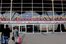 آخر رحلة دولية تغادر مطار أربيل قبل تطبيق الحظر