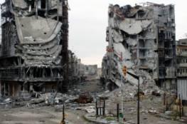 """قصف عنيف على حلب وانفجارات تهز أطراف عاصمة سوريا """"دمشق"""""""