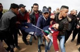 فلسطين : 35 إصابة بنيران جيش الاحتلال الإسرائيلي