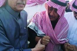أضحك السعوديين 3 عقود ثم بكى.....صورة مؤثرة