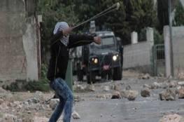 إصابة فتى برصاص الاحتلال في مواجهات في أبو ديس