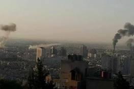 صور: 8 قتلى واصابة 12 أخرين في تفجيرات انتحارية وسط دمشق