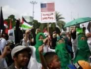 """آلاف النيجيريين يطالبون رئيسهم بـ""""كسر صمته"""" تجاه ظلم الفلسطينيين"""