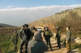 18 دونم من أراضي سلفيت في قبضة الاحتلال