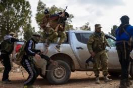 القوات التركية والجيش السوري يدخل آخر معاقل تنظيم داعش في محافظة حلب في شمالي سوريا.