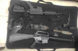 اسرائيل:ضبط أسلحة بالخليل
