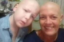 صور: في حادث مؤلم.. أم وابنها يُصابان بالسرطان في وقت واحد!