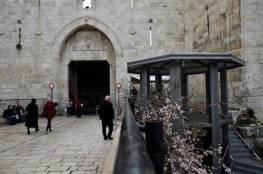 جيش الاحتلال ينهي نصب أبراج عسكرية مزودة بكاميرات مراقبة بالقدس