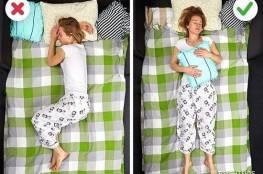 أوضاع صحيحة فى النوم لعلاج عدد من آلام الظهر والكتف والرقبة.....بالصور