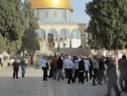 فلسطين : المسجد الأقصى يشهد اقتحامات واسعة من المستوطنين