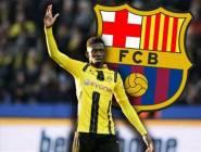 برشلونة يتعاقد مع الفرنسي عثمان ديمبلي لمدة 5 مواسم