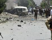 مصرع  9 من رجال الشرطة الأفغانية بتفجير انتحاري