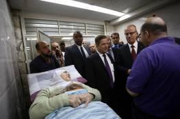 الحمد الله يجري جولة تفقدية بمستشفى رفيديا ويوعز بتخصيص مليون دولار لتوسعة قسم الطوارئ