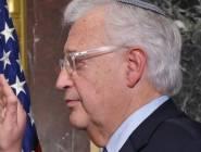 السفير الأمريكي يبدأ مزاولة مهامة في تل أبيب اليوم