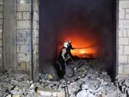 16 قتيلاً في غارة جوية على سجن في سوريا