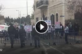 رفضا للمارثون التهويدي المقام في مدينة القدس المحتلة