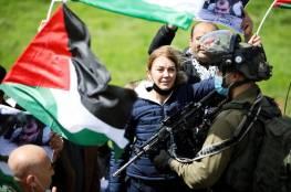 إصابة 5 مواطنين بالرصاص والعشرات بالاختناق خلال قمع الاحتلال مسيرة بيت دجن شرق