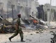 مقديشو : إصابة 5 جنود في انفجار سيارة مفخخة بالعاصمة الصومالية