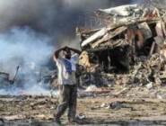 الهجوم الأعنف ... و  ارتفاع عدد قتلى تفجيري الصومال إلى 263
