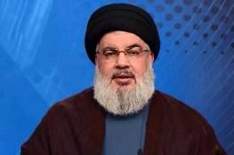نصر الله : فككنا النقاط العسكرية على حدود لبنان مع سوريا