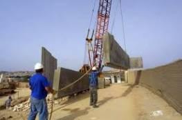 حماس: بناء جدار إسمنتي بمحيط غزة استفزاز للمقاومة واسرائيل تتحمل تبعاته
