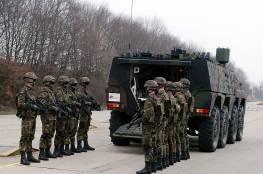ألمانيا ترسل الدعم و المدرعات المقاتلة إلى ليتوانيا لردع روسيا