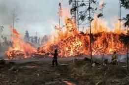 روسيا: النيران تلتهم أكثر من مليون هكتار من الغابات في ياقوتيا