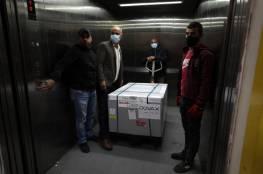 وزيرة الصحة د. مي الكيلة: اللقاحات التي وصلتنا دخلت إلى ثلاجات مستودعاتنا المركزية
