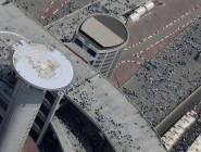 مكة : ضيوف الرحمن يواصلون رمي الجمرات في ثاني أيام التشريق