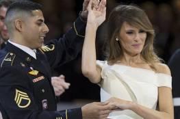 فيديو:هذا ما كشفه الجندي الأمريكي عن رقصته مع زوجة ترامب