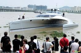 الصين تدشن أحد أروع اليخوت في العالم