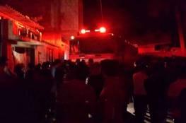 فلسطين : مقتل سيدة وأطفالها الثلاثة بحريق في منزلهم بالقدس