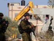 جهاز بلدية الاحتلال تهدم منزلاً في حي بيت صفافا بحجة عدم الترخيص
