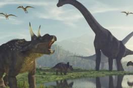 ديناصورات في فلسطين