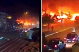 العراق : مقتل ثلاثة أشخاص وإصابة آخرين بانفجار سيارة مفخخة وسط بغداد