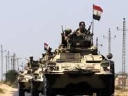 الجيش المصري يعلن تصفية 8 إرهابيين في شمال سيناء
