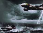 """علماء يكشفون سبب اختفاء السفن والطائرات في """"مثلث برمودا"""""""