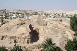 """اكتشاف""""استثنائي"""" في أريحا يربطها بمصر القديمة"""