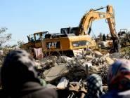 الاحتلال الاسرائيلي يهدم ثلاثة مساكن فلسطينية في بلدة حزما
